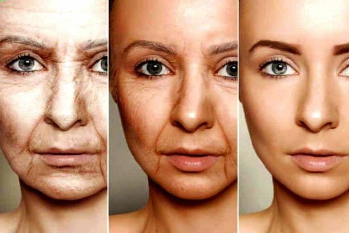 normal skin changes with aging