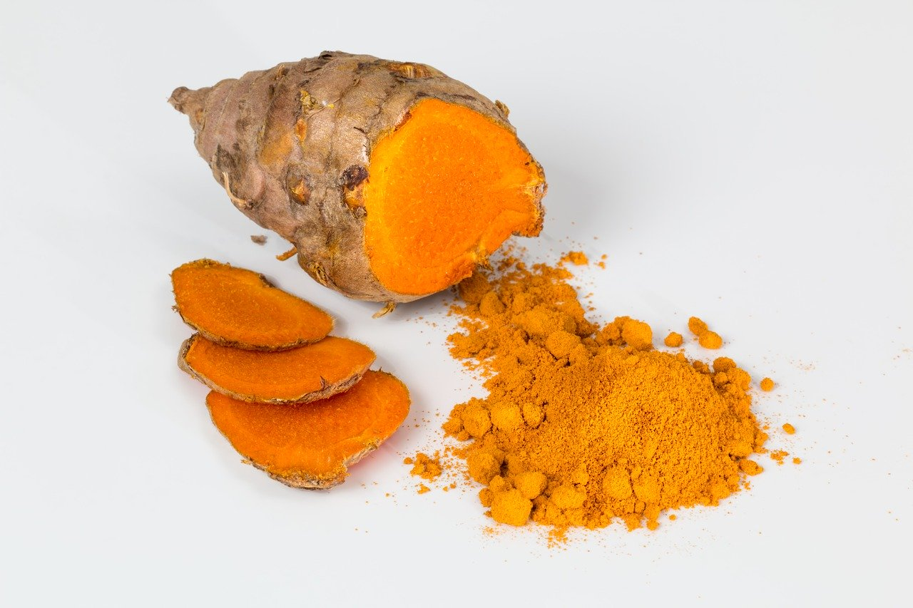 turmeric for cause of stains